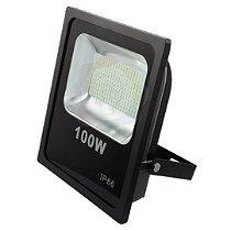 Refletor LED 100w SMD Branco Frio