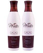 Portier Cacao Escova Progressiva Kit Profissional (2x1L)