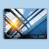 Caderno de Projetos e Rascunhos A4 - Engenharia e Arquitetura