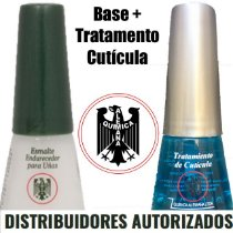 Kit Base Endurecedora + Tratamento de Cutícula