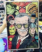 Stan Lee | Quadro Mdf 40x60 cm