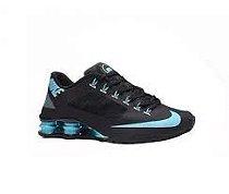 Tênis Nike Shox R4 Superfly -Preto Com Azul