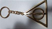 Chaveiro de Metal Harry Potter - Relíquias da Morte