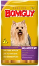 Ração Bomguy Premium Carne e Vegetais Raças Pequenas