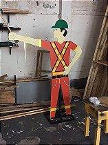 Boneco Sinalizador de Obras - Refletivo.