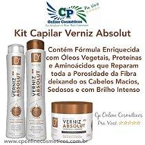 Kit Capilar Verniz Absolut - D'oura Hair