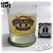 Copo de Whisky Chivas 18 Anos