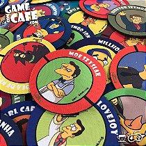 Coleção 60 Porta-Copos dos Simpsons