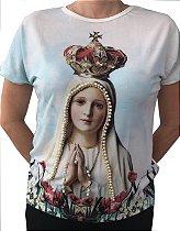 Blusa Feminina - Nossa Senhora de Fátima