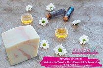 ÁRVIDA - Sabonete Artesanal de Castanha do Brasil e Óleo Essencial de Lavandin  +- 90g