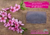 ÁRVIDA - Sabonete Artesanal de Chocolate e Óleo Essencial de Laranja Doce +-90g
