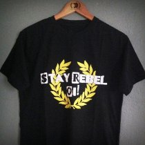 Camiseta Stay Rebel Oi!