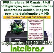 Gravador Digital De Vídeo DVR Mhdx 1016 Intelbras