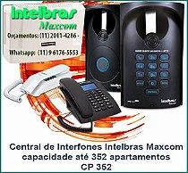 Central de Interfones Intelbras Maxcom CP 352