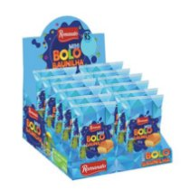 Display Mini Bolo 30g - sabor Baunilha