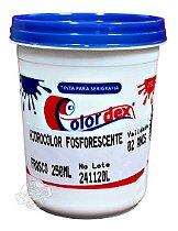 Tinta Hidrocolor Fosforescente Colordex