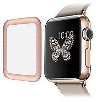 Capa SUPTECH Apple Watch com protetor de vidro Ultra fina Tempered Glass Screen Protector com bordas