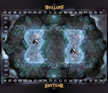 Playmat 3 Lanes