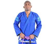 Kimono Jiu Jitsu Oss Masculino Blue Edition + Sacola