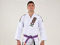 Kimono Jiu Jitsu Oss Masculino Tradicional Branco