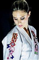 Kimono Jiu Jitsu Oss Feminino Competition Branco