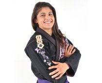 Kimono Jiu Jitsu Oss Feminino Competition Preto