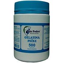 GELATINA DE PEIXE SÃO PEDRO  500 cápsulas (500mg)