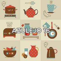 Azulejo 16 - Jogo 90pçs 15x15