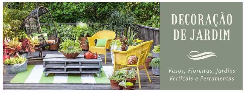 Decoração de Jardins no BomCultivo