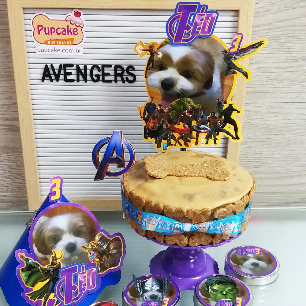 Petit Cãomite Avengers