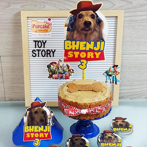 Petit Cãomite Toy Story