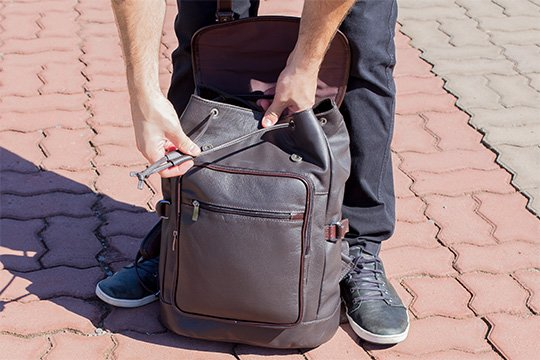 mochila saco masculina