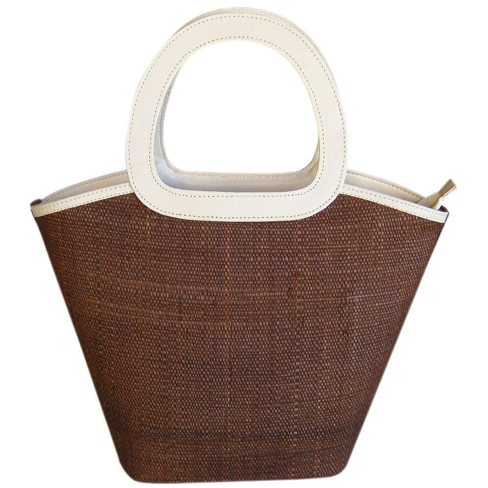 Bolsa Grande de Palha com Alça Ovalada Moda Praia Cores