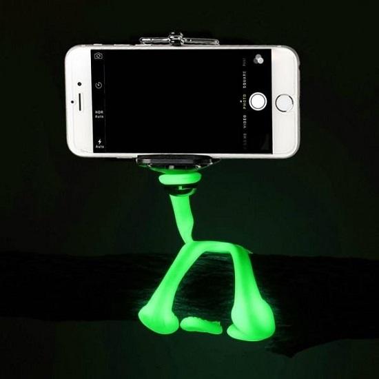 Gekkopod Fluorescente para celular gopro e camera fotografica