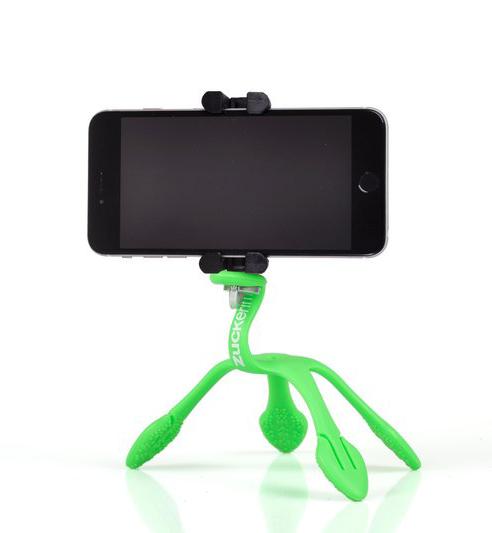 Gekkopod para Celular e Câmera Fotográfica Verde