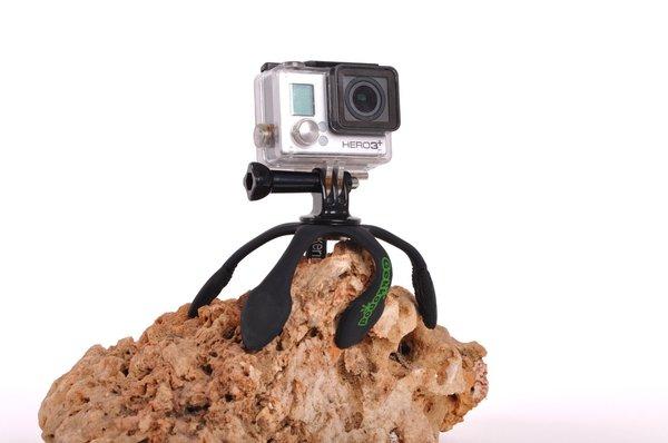 Gekkopod para Gopro e camera fotografica preto zucherim