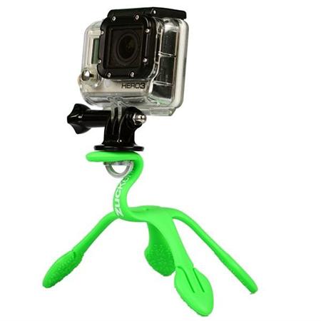 GekkoPod para GoPro e Câmera Fotográfica Verde - Zuckerim