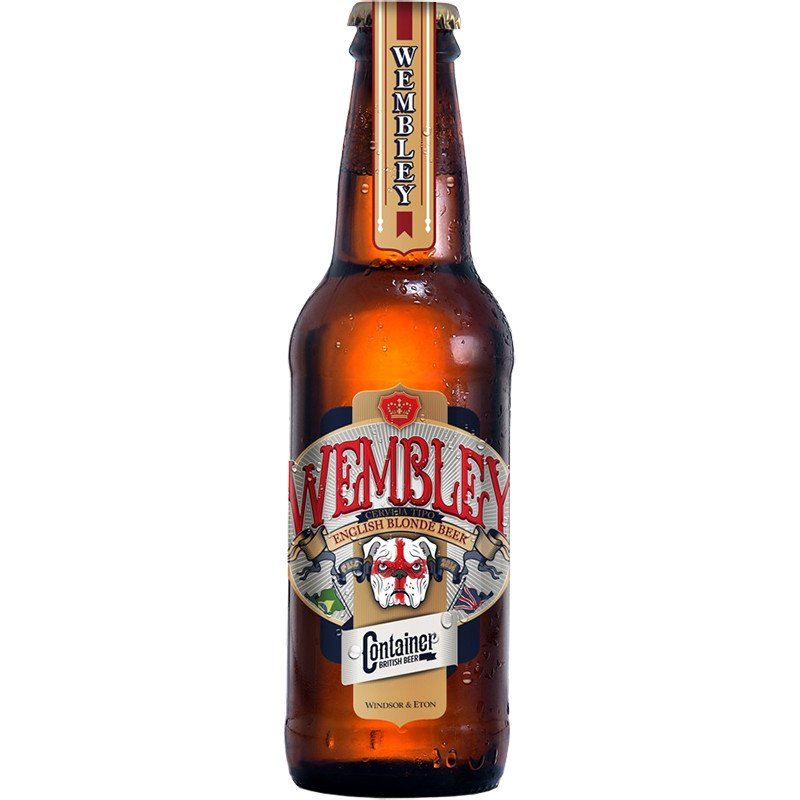 Cerveja Artesanal Container Wembley Blonde Ale 500ml