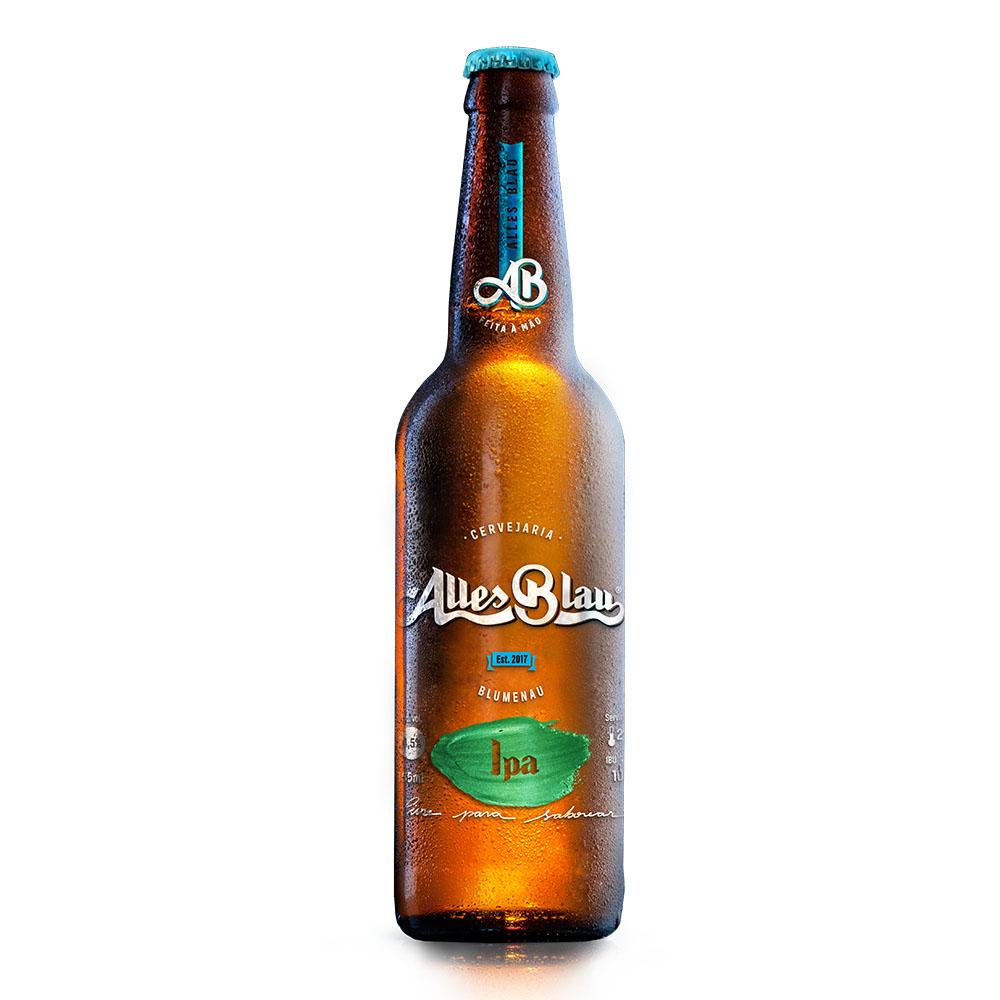 Cerveja Artesanal Alles Blau IPA 355ml