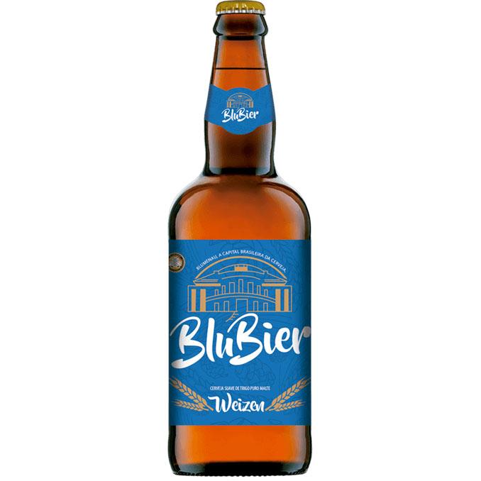 Cerveja Artesanal BluBier Weizen 500ml