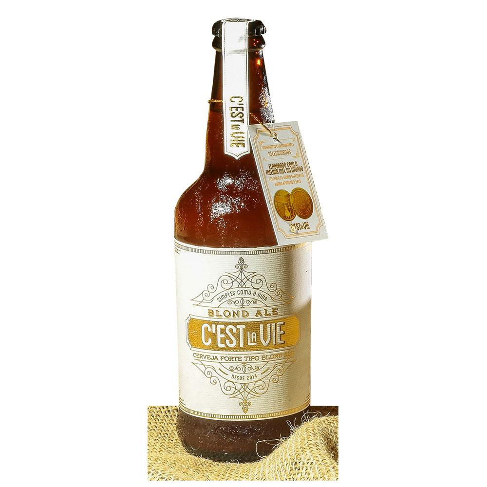 Cerveja Artesanal Cest La Vie Blond Ale 500ml