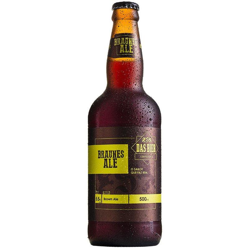 Cerveja Artesanal Das Bier Braunes Ale 500ml