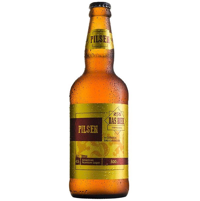 Cerveja Artesanal Das Bier Pilsen 500ml
