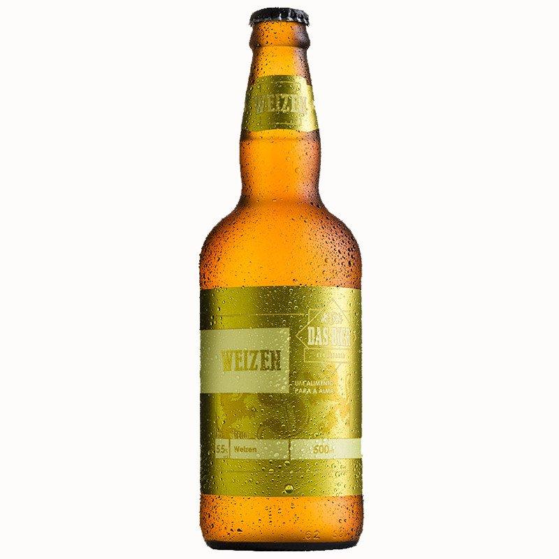 Cerveja Artesanal Das Bier Weizen 500ml
