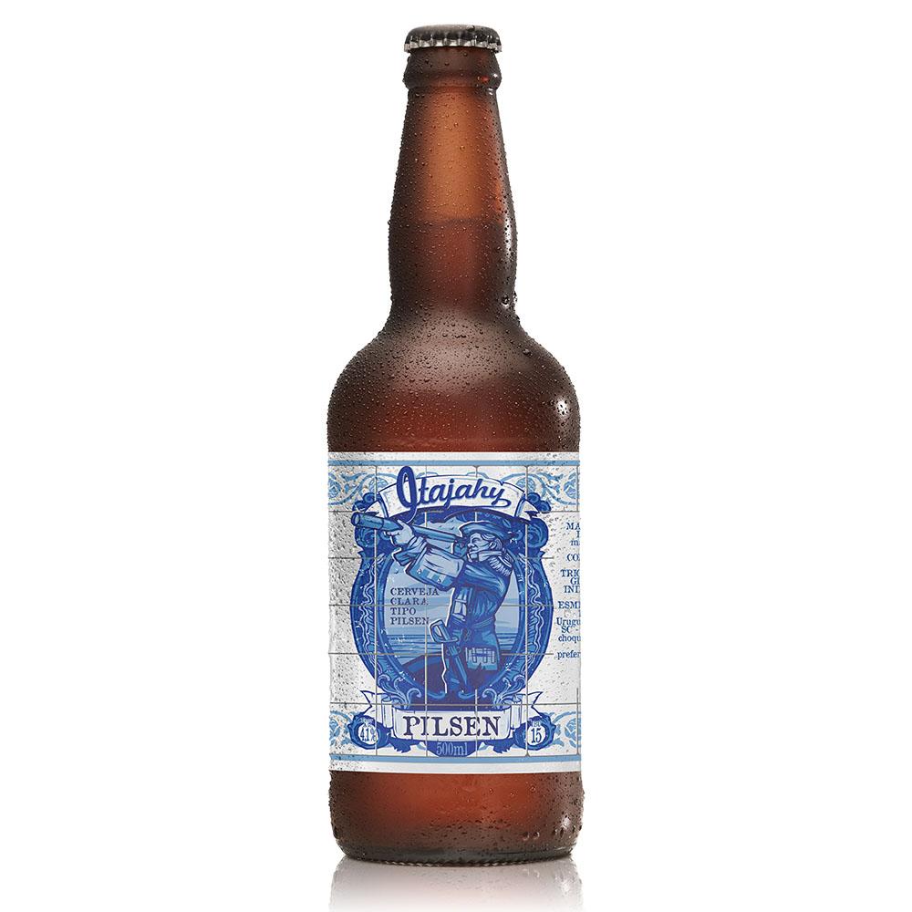 Cerveja Artesanal Itajahy Pilsen 500ml