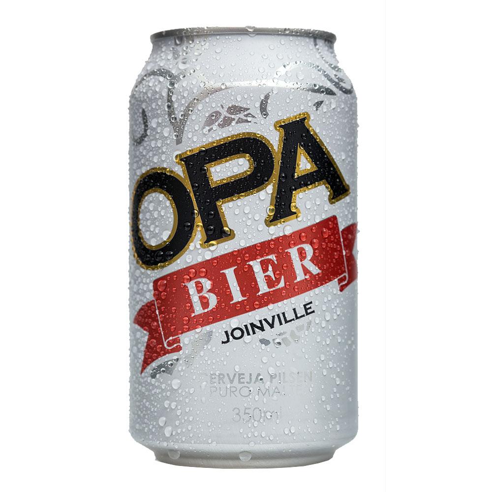 Cerveja Artesanal Opa Bier Lata Pilsen 350ml