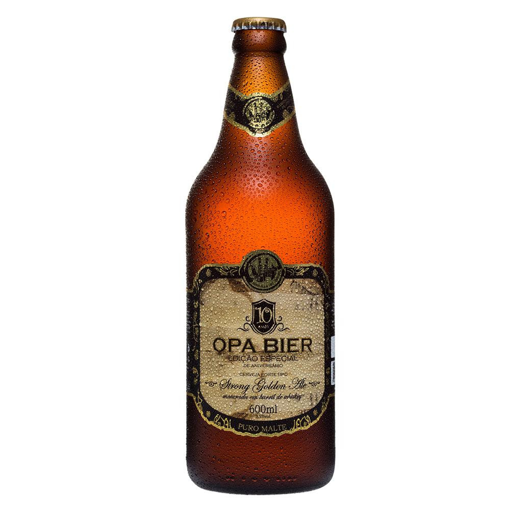 Cerveja Artesanal Opa Bier Strong Golden Ale 600ml