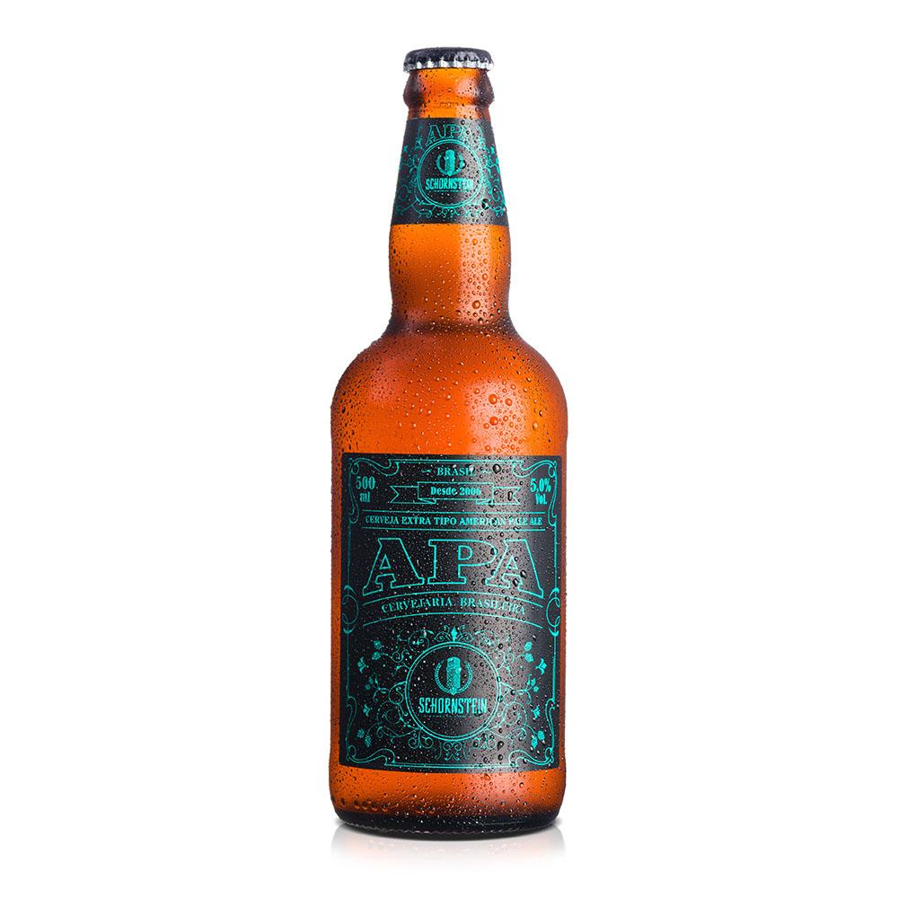 Cerveja Artesanal Schornstein APA 500ml
