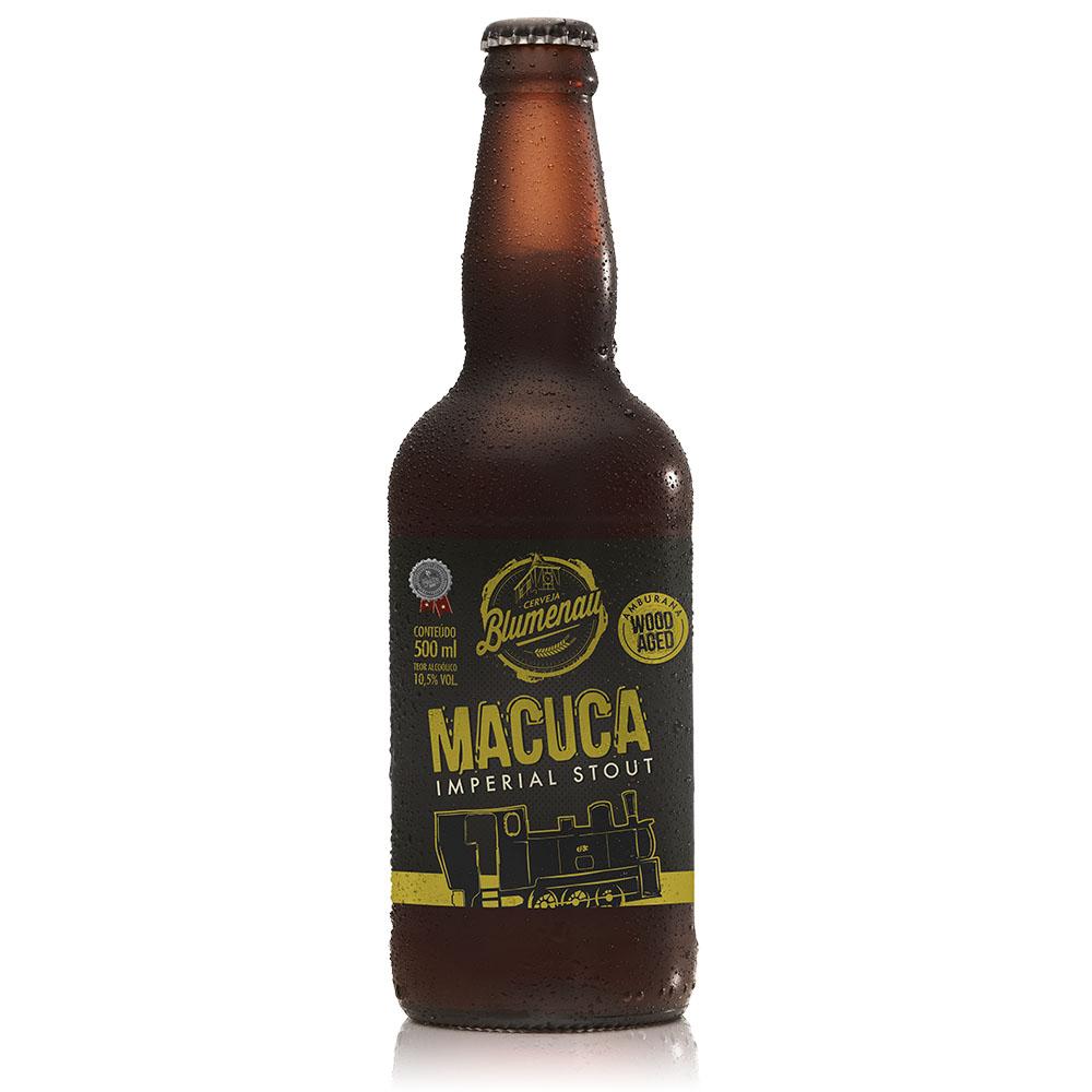 Cerveja Blumenau Macuca Imperial Stout 500ml