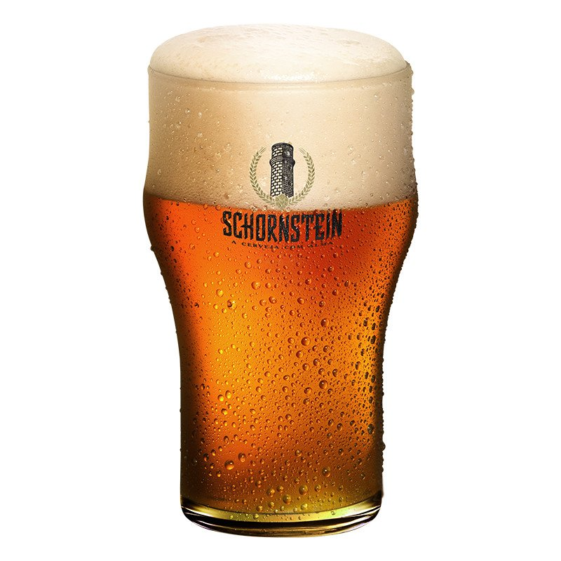 Copo de Cerveja Artesanal Schornstein IPA